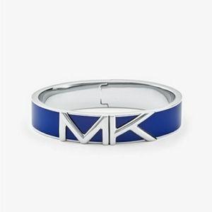 Michael Kors Blue Mott Bangle Bracelet NWT